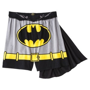 1460.Batman Boxer with Detachable Cape