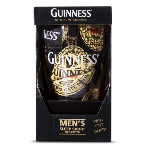 1006.Guiness Stout Boxer Set (Boxer & Pint Glass)