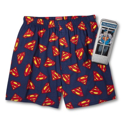 0997.Superman Boxers in Collector's Telephone Case