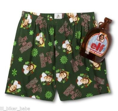 1752.Elf *The Movie* Boxers in Maple Syrup Bottle