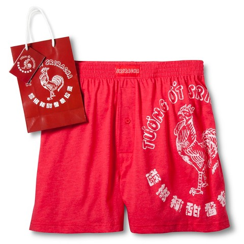 2006.Sriracha Spicy Red Boxers *(In Collector Bank Bottle)*