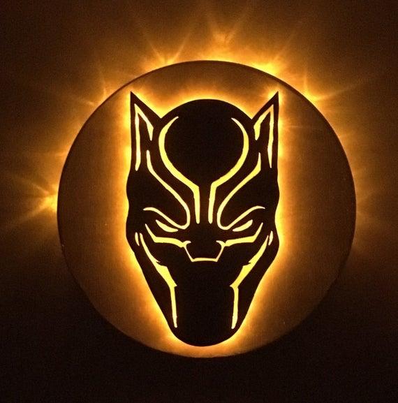 2127.Marvel *Black Panther* Pullover (Mad Engine Black)