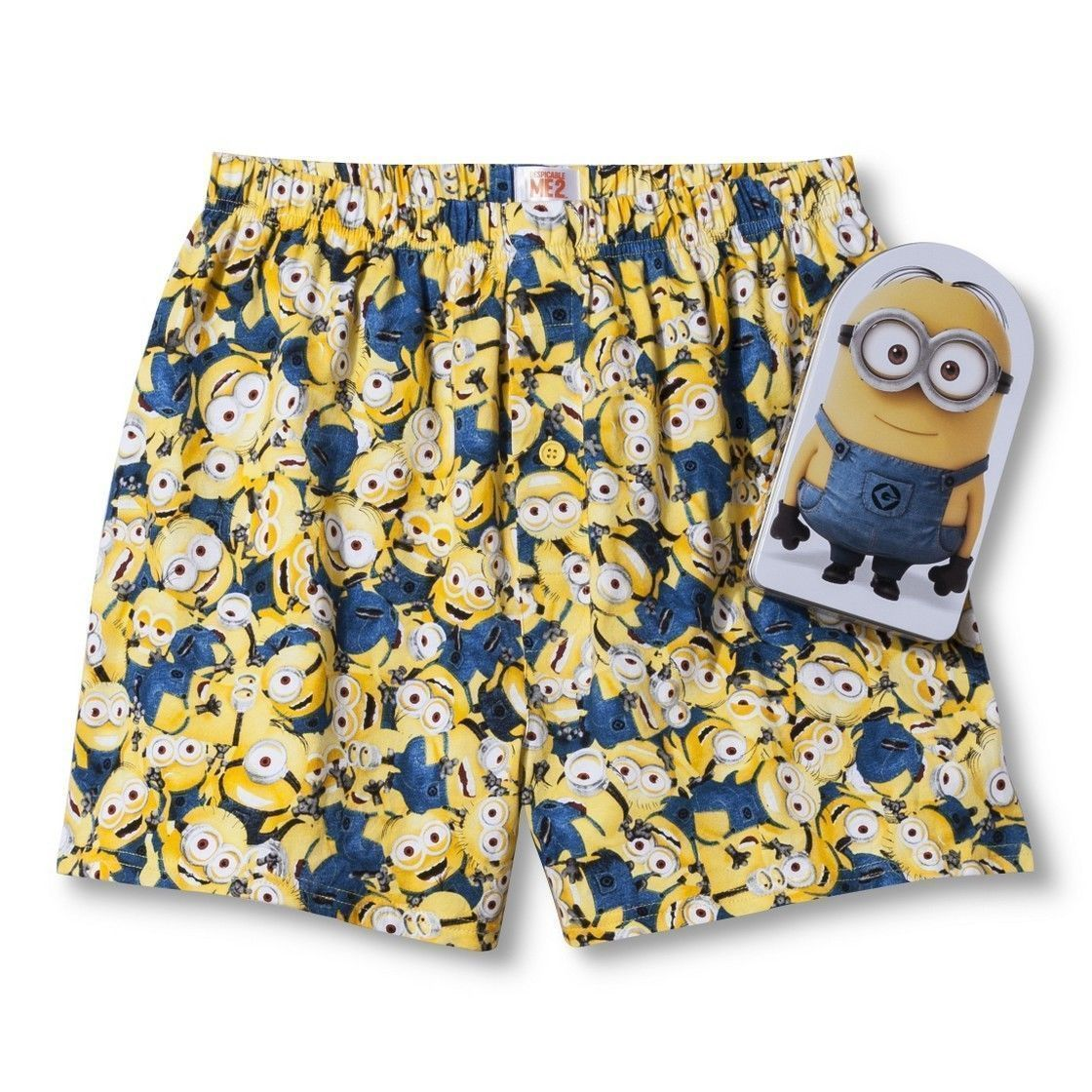 2190.Despicable Me *The Movie* Boxers in Gift Canister